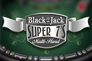Super 7's Multihand Blackjack